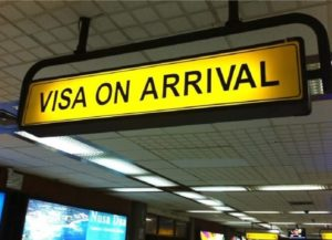 Visa on arrival for golden triangle tourist