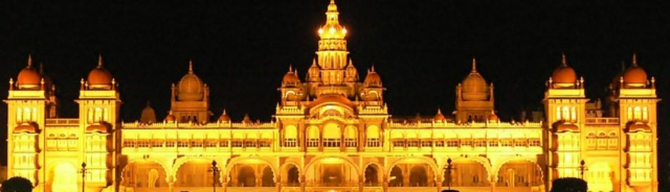 mysore-palace holiday packages in best golden triangle tour